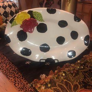 Whimsical ClayArt Handmade Platter